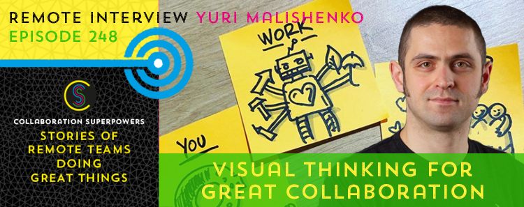 248 – Visual Thinking For Great Collaboration With Yuri Malishenko